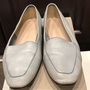 ENZO ABGIOLINE leather flat shoes